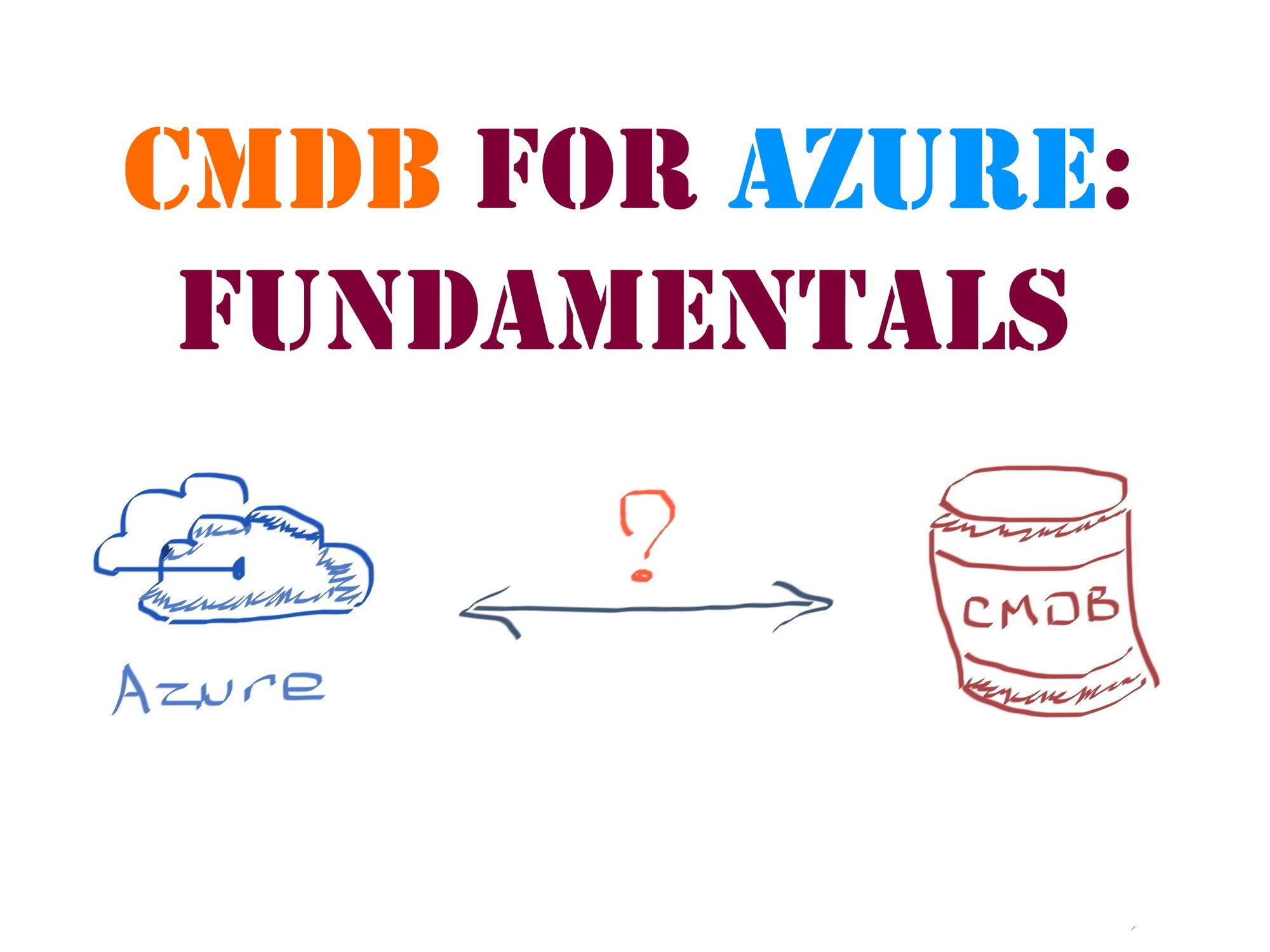 Practical aspects of running a CMDB for Azure resources: Fundamentals