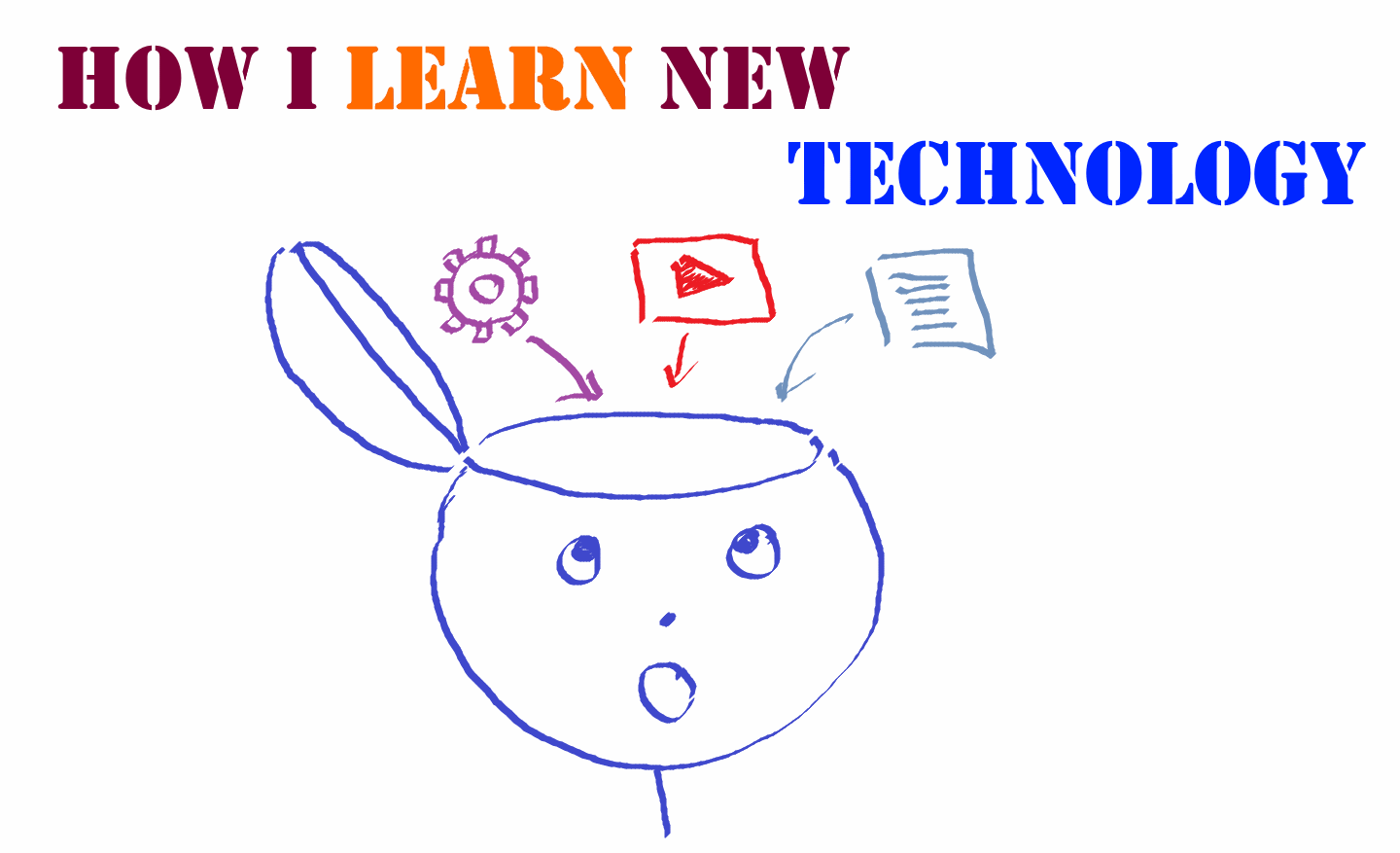 How I learn new technology