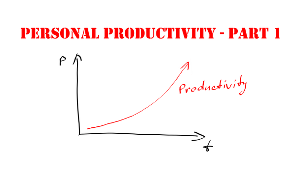My personal productivity tips – Part 1