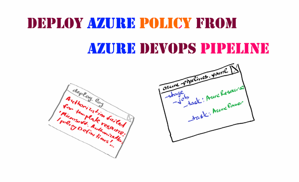 How to deploy Azure Policy from an Azure DevOps pipeline