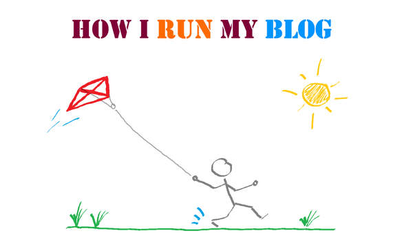 How I run my blog